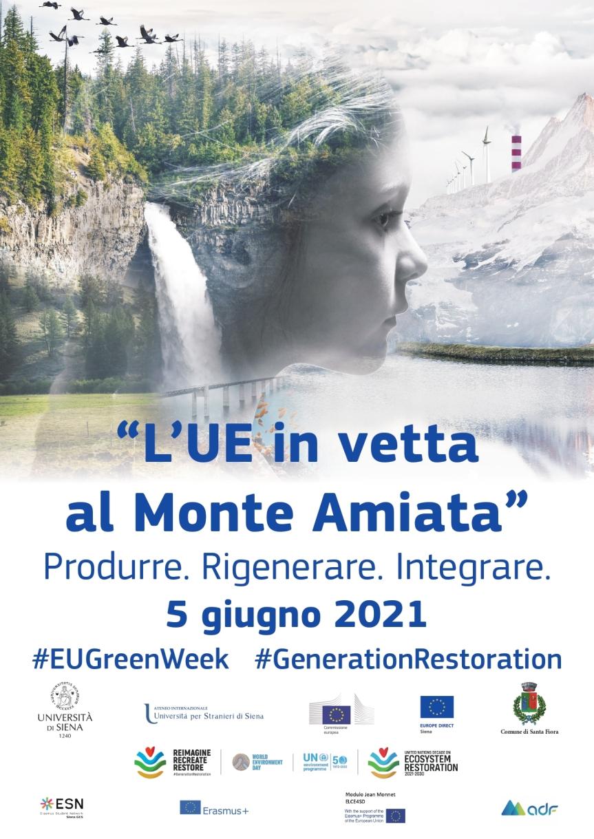 """Siena: """"L'UE in vetta al Monte Amiata"""", marcia per l'ambiente organizzata dal Centro Europe Direct dell'Università"""