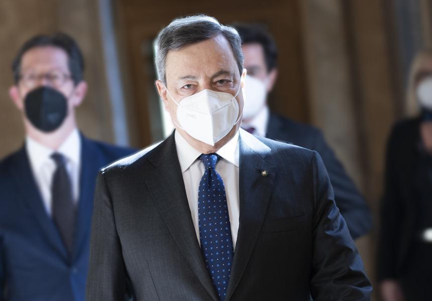 Italia: Dichiarazione del Presidente del Consiglio MarioDraghi