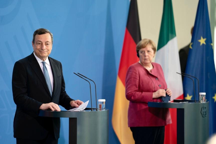 Italia: Il Presidente Draghi aBerlino