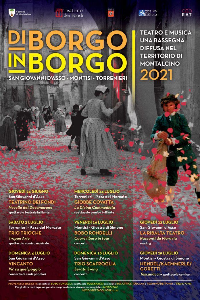 """Provincia di Siena: """"Di Borgo in Borgo"""", la rassegna prosegue a Torrenieri con il Trio Trioche in """"TroppeArie"""""""