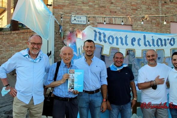 """Palio di Asti, COmitato Palio Montechiaro: E' stato presentato il libro """"Montechiaro nel Cuore"""" dalla Cena neiVoltoni"""