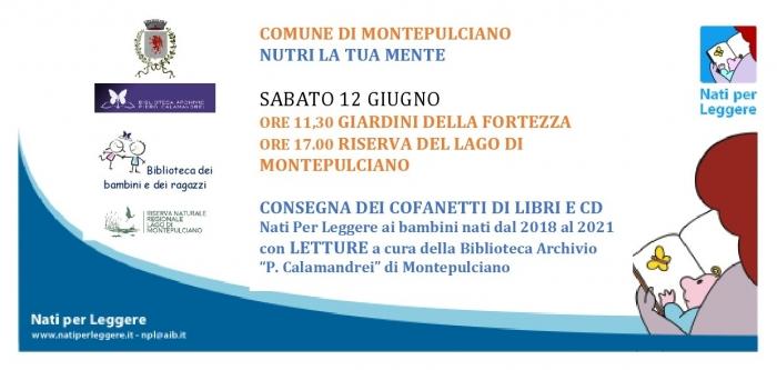 """Montepulciano: """"Nati per leggere"""", libri in omaggio ai cittadini piùpiccoli"""
