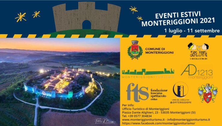 Provincia di Siena: Monteriggioni, gli appuntamenti dal 13 al 18 luglio del cartelloneestivo