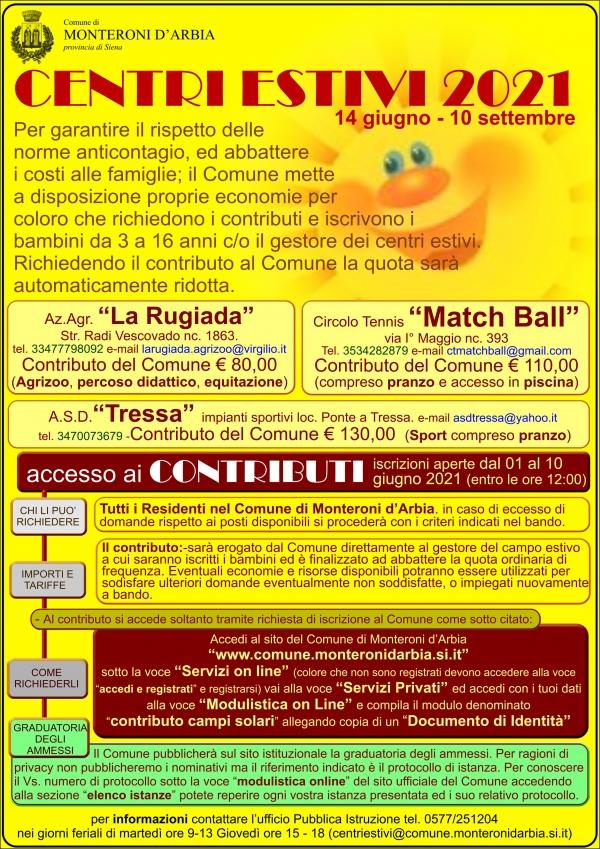 Provincia di Siena: Monteroni d'Arbia, 14/06-10/09 CampiSolari