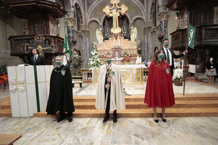 Palio di Legnano: Investitura della Reggenza della Contrada San Domenico in occasione del 2 Giugno, una data simbolo per il popolobiancoverde