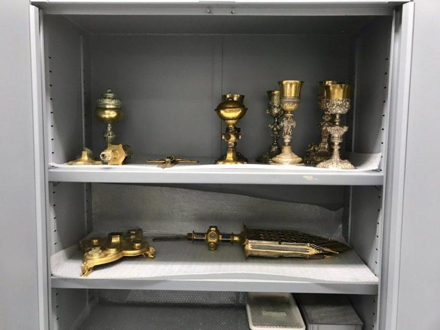 """Provincia di Siena: Il reliquiario di San Galgano """"in cura"""" per sei mesi presso i MuseiVaticani"""