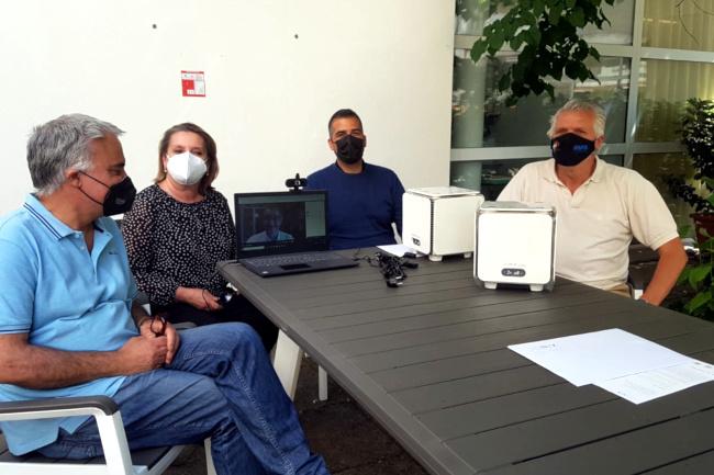 Provincia di Siena: Poggibonsi, donati alla città due sanificatori a plasmafreddo