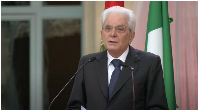 Italia: Messaggio di auguri al Presidente della Repubblica SergioMattarella