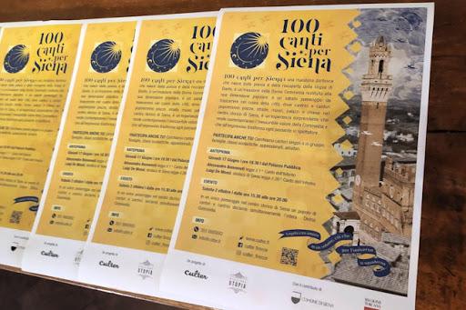 """Siena, Siena celebra i 700 anni dalla scomparsa del Divin Poeta. De Mossi: """"Mi cimenterò anche io nella lettura di un cantodell'Inferno"""""""