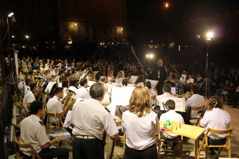 Siena: Domani 30 giugno in Piazza del Campo il tradizionale concerto della Banda Città delPalio