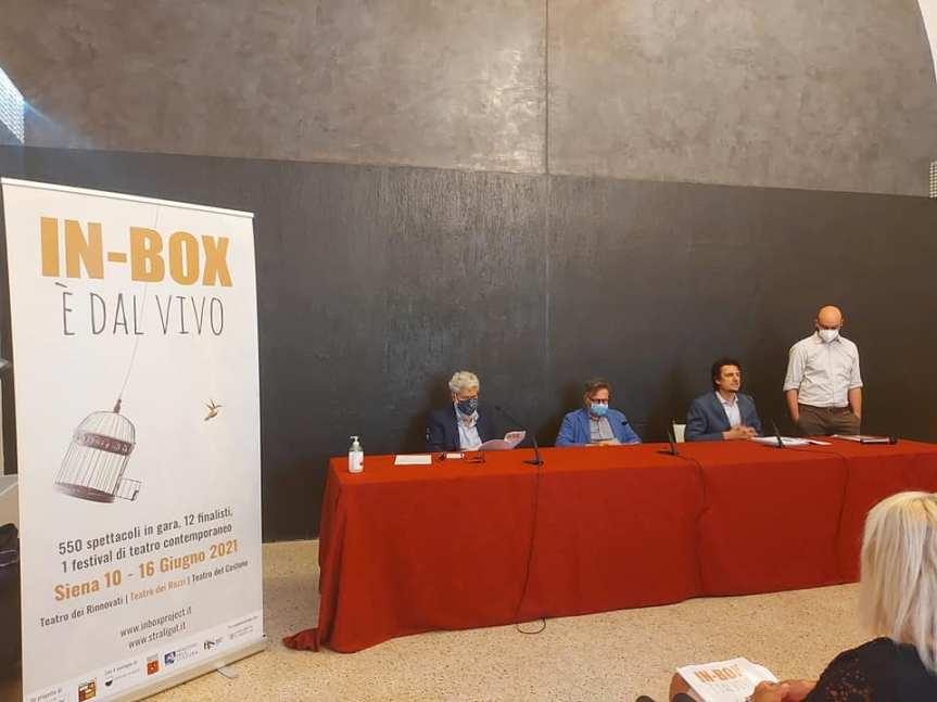 Siena: Oggi 03/06 Conferenza stampa di presentazione della nuova edizione di In-Box DalVivo.