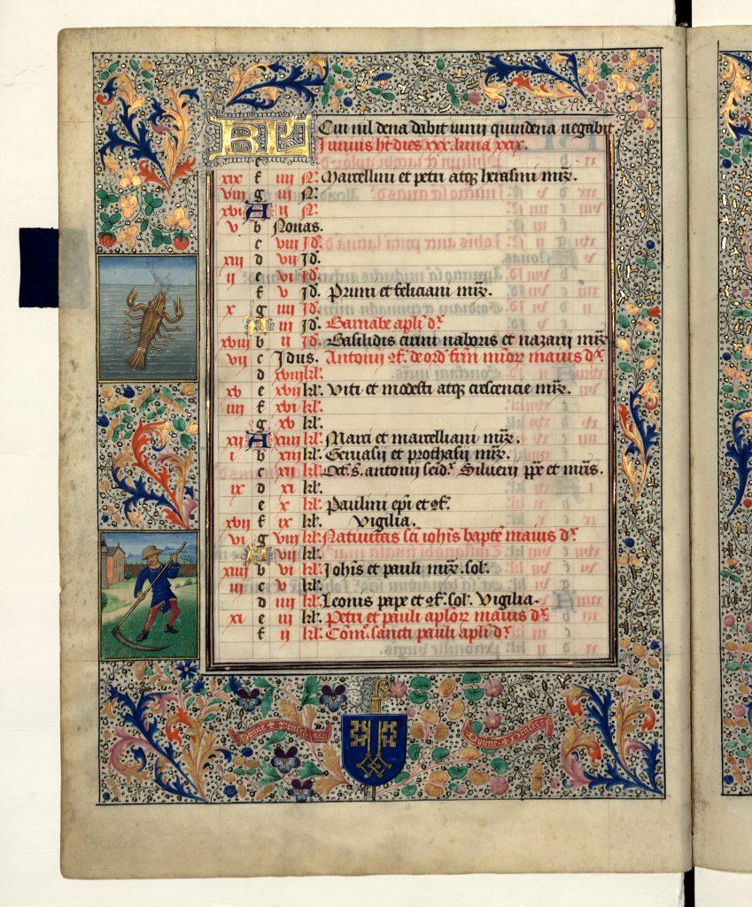 """Siena: Il """"Missale romanum"""" della Biblioteca degli Intronati in mostra inFrancia"""