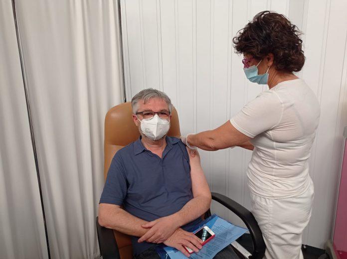 """Provincia di Siena, Covid, Bezzini si vaccina: """"Grandeemozione"""""""