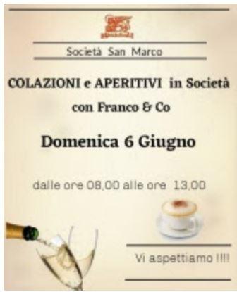 Siena, Contrada della Chiocciola: 06/06 Colazioni e aperitivi inSocietà