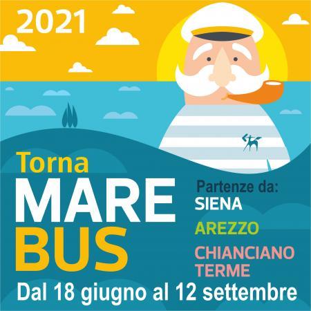 Toscana, Dal 18 giugno torna MareBus: Partenze da Siena, Arezzo e ChiancianoTerme