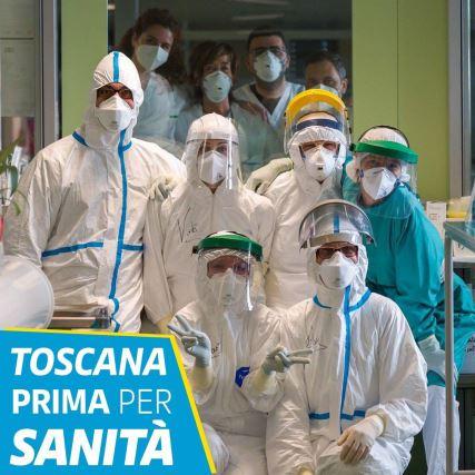 Toscana: La Regione è 1^ persanità