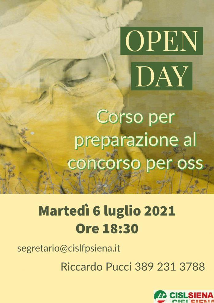 Siena: Open day della Cisl per illustrare il corso di preparazione al concorso perOss