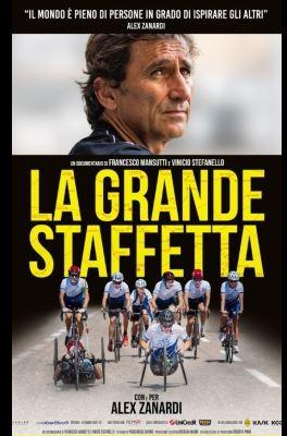 """Provincia di Siena, """"La grande staffetta"""": Il docufilm su Alex Zanardi al Teatro degli Astrusi diMontalcino"""