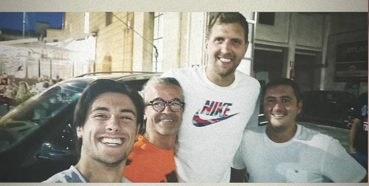 Siena, Dirk Nowitzki in vista nella nostra città: Tifosi indelirio