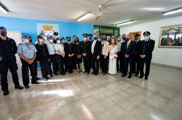 Italia: Il Presidente Draghi e la Ministra Cartabia in visita al carcere di Santa Maria CapuaVetere