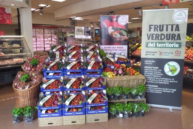 """Provincia di Siena: Etruria Retail presenta la cassetta """"Sapori & Valori"""", verdure d'eccellenza per celebrare il rapporto con iterritori"""