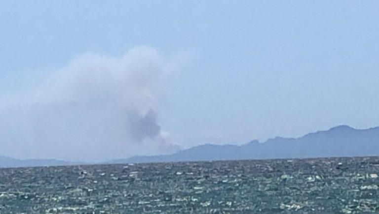 Toscana: Incendio vicino a Porto Azzurro, Isola d'Elba: fumo visibile fin da Follonica. Pronte squadre dirinforzo