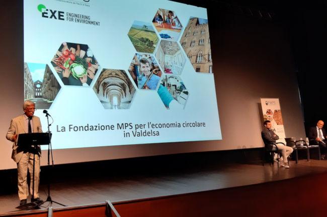 Provincia di Siena: Fondazione Mps per l'economia circolare inValdelsa