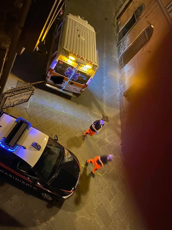 Siena: Rissa in centro nella notte, intervengono le forzedell'ordine