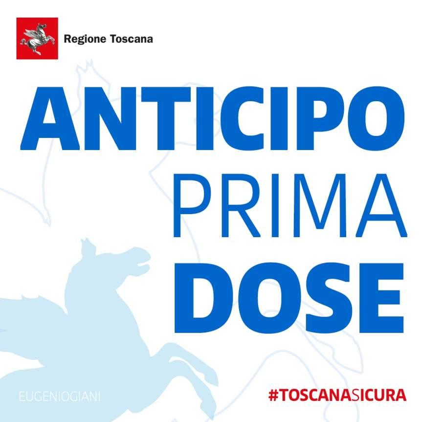 Toscana, Vaccino Covid: Agende implementate, c'è la possibilità di anticipare la primadose