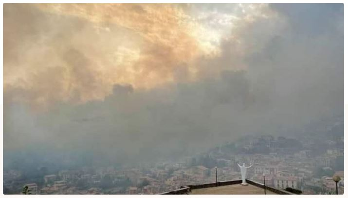 Italia  Aiuti per la Prov. di Oristano colpita dalfuoco