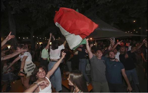 Siena: Nella notte Fortezza si è tinta di azzurro Quanta felicità per il trionfo dellaNazionale