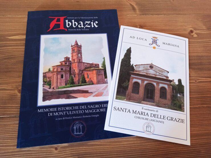Provincia di Siena, Abbazie Toscane: Pubblicata una nuovaplaquette