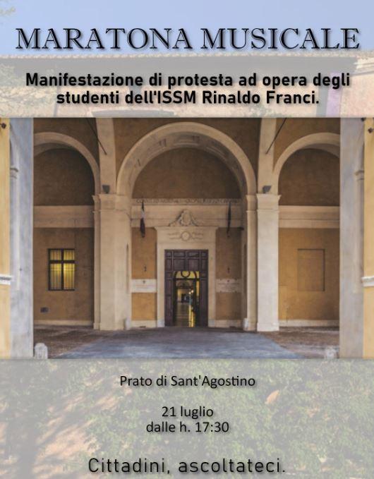 Siena: Oggi 21/07 Maratona musicale degli studenti delFranci