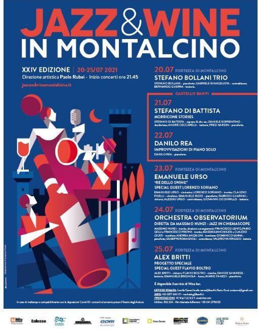 Provincia di Siena, Swing, swing e ancora swing: A Jazz & Wine in Montalcino arriva EmanueleUrso