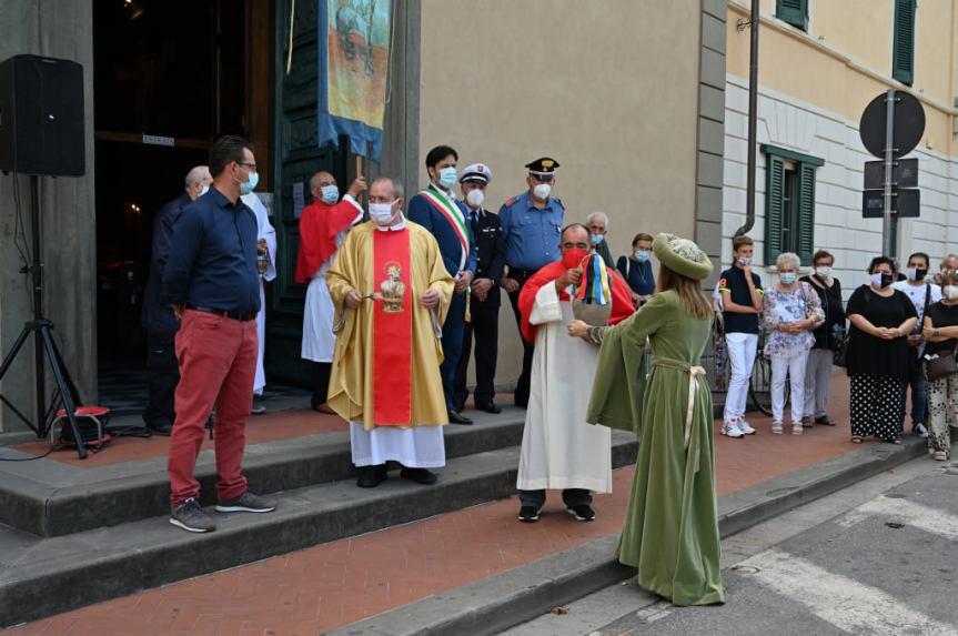 Palio di Bientina: ieri 18/06 si è svolta la tradizionale Consegna dell'Olio  per la lampada della Cappella di SanValentino