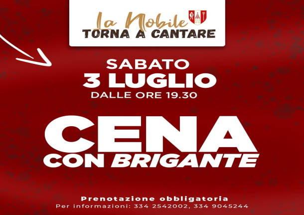 """Palio di Legnano, Contrada San Magno: 03/07 Cena con Carlo Sanna detto """"Brigante"""""""