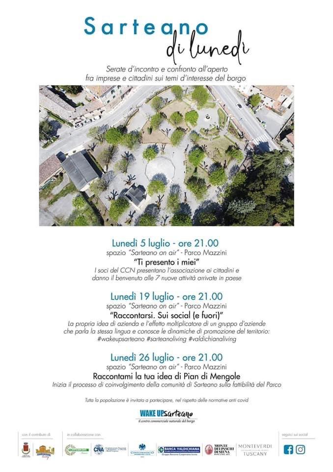 Provincia di Siena: Sarteano, il Ccn dà il benvenuto alle sette nuove attività in apertura inpaese