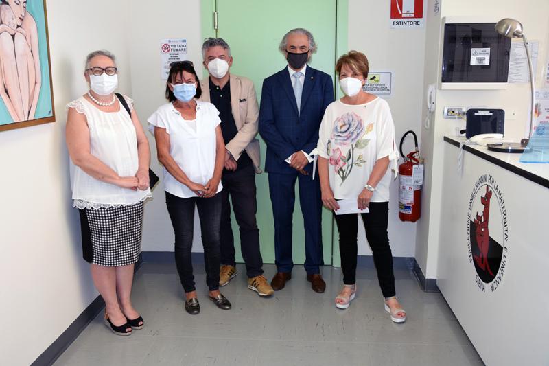 Siena: Visita e donazione del Lions Club di Siena alla Fondazione DaniloNannini
