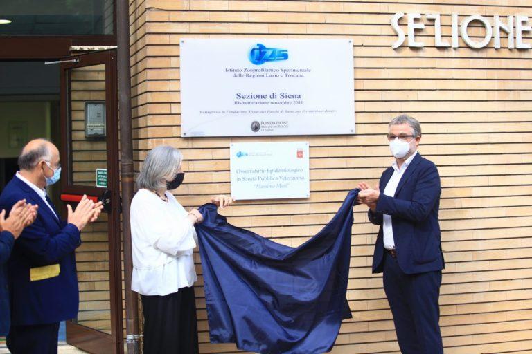 Siena: Osservatorio epidemiologico veterinario intitolato a Massimo Mari, presente l'assessoreBezzini