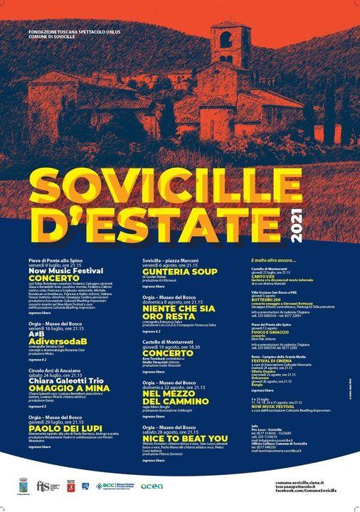 """Provincia di Siena: Al via l'edizione 2021 di """"Sovicilled'Estate"""""""