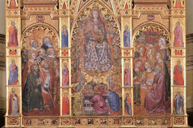 provincia di Siena: Montepulciano, un volume racconta la storia ed il restauro del Trittico di Taddeo diBartolo