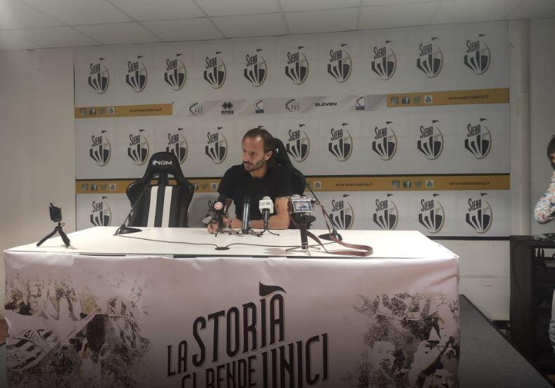 Siena, Acn Siena: Oggi 25/09 Siena-Reggiana 0-2, parlano Gilardino eVarela