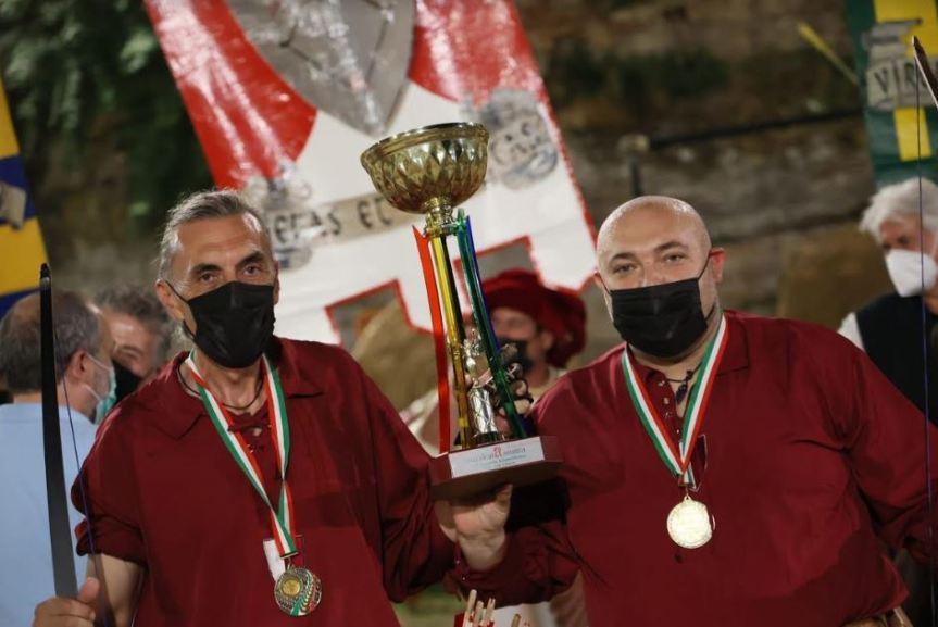 Cavalcata dell'Assunta Fermo: Tiro per l'Astore, gli arcieri di Capodarco conquistano il gradino più alto del podio. Attesa per la Tratta deiBarberi