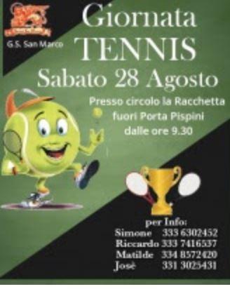 Siena, Contrada della Chiocciola: 28/08 Torneo diTennis