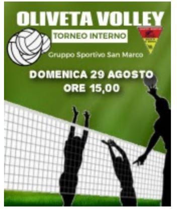 """Contrada della Chiocciola: 29/08 """"Torneo Interno di Pallavolo"""""""