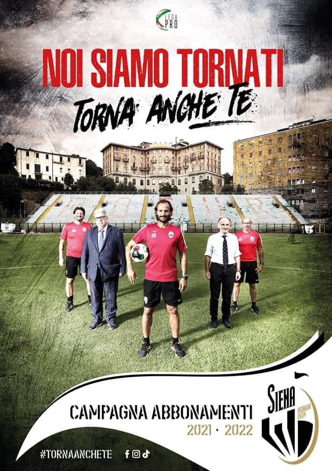 Siena, Acn Siena: Abbonamenti superata quota 1.400 tesserevendute