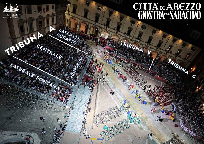 Gostra del Saracino Arezzo: Ecco i Prezzi della Giostra del 05/09 e della Prova Generale del03/09