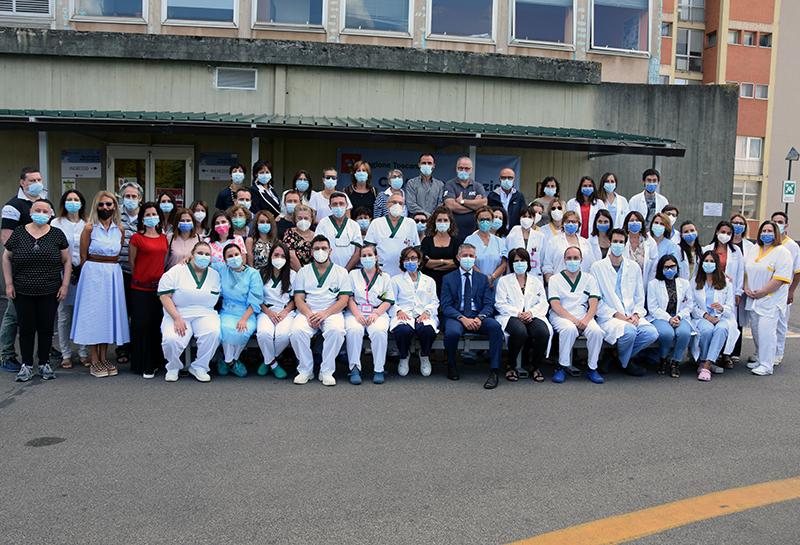 Siena, Ultimo giorno di lavoro per la Vax Unit dell'Aou Senese: Effettuate 77826 vaccinazioni grazie al lavoro di oltre 300professionisti