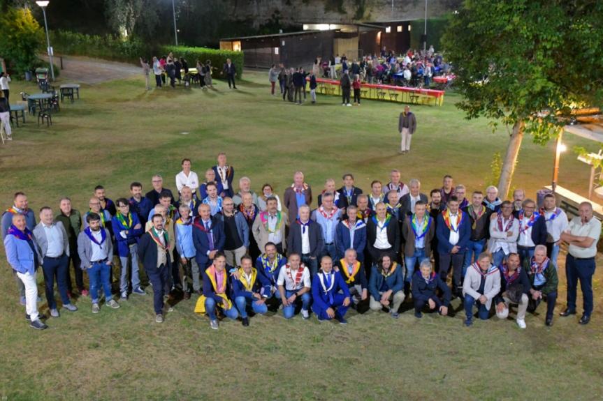 Siena, Comitato Amici del Palio: Ieri 17/09 Banchetto del Comitato 2020 nellaChiocciola