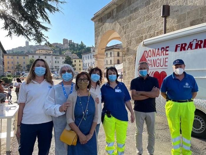 Provincia di Siena:  Camper vaccinale dell'Asl Toscana sud est: ieri sera 56 vaccinazioni a Colle Vald'Elsa